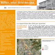 DIA bilan 2010