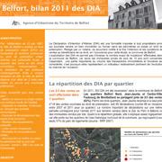 DIA bilan 2011