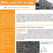 DIA bilan 2012