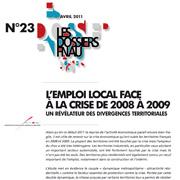 Emploi/crise 2008-2009